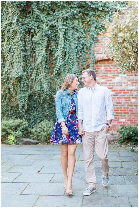 Holly & Brett | Sweetheart Session | Old Town, Alexandria