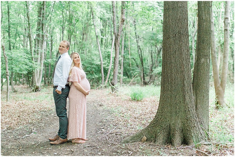 Forest & Waterfront Maternity Session
