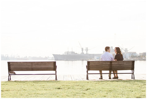 Peggy & Ryan - Engaged- Patterson Park & Fells Point - Baltimore, MD