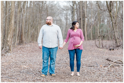 Alyssa & Matt Maternity - Baltimore, MD