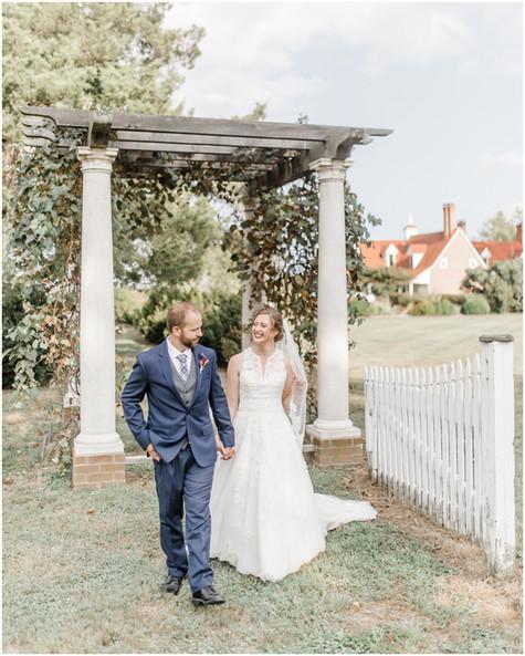 Caitlin & Seth | Sotterley Plantation | Southern Maryland Wedding Photographer