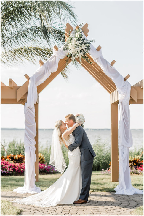 Summer & Zach | Herrington On The Bay | Maryland Wedding Photographer