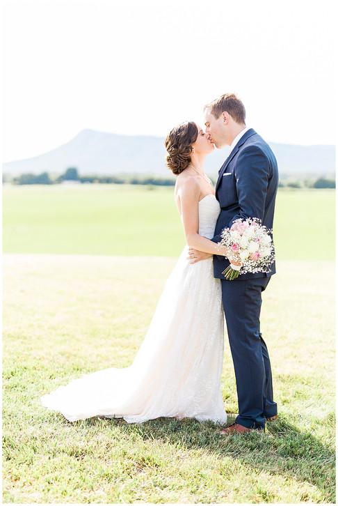 Betsy and Luke   Wedding   Brix & Columns   McGaheysville, VA