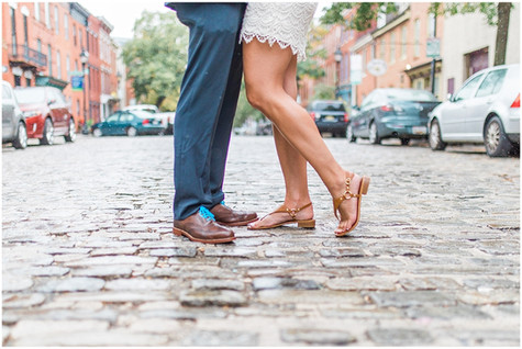 Jen & Andrew - ENGAGED - Fells Point
