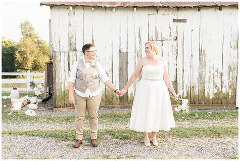 Kellie & Ashlie - Married - Green Hill Farm - Sharpsburg, MD