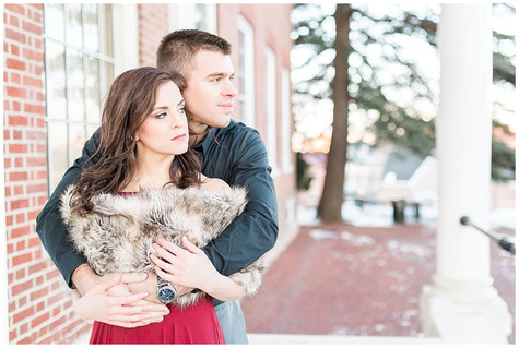 Kerry & Greg - Engaged - Downtown Annapolis & Quiet Waters Park