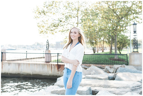 Grace - Senior Session - Naval Academy