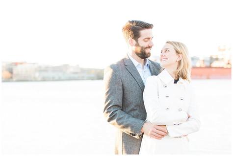 Kerri & Chris - Engaged - Fells Point - Baltimore, MD