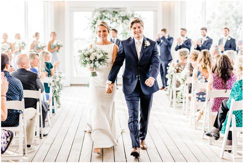 Courtney & Christian | Chesapeake Bay Beach Club | Annapolis, Maryland Wedding Photographer