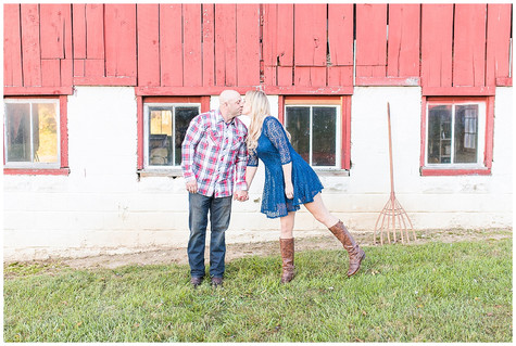 Rustic Themed Engagement Session - Aberdeen, MD