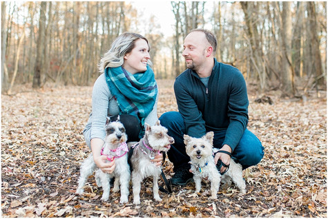 Family Session W/Pups! - Baltimore, Maryland