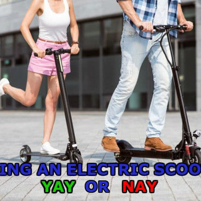 Pros & Cons of Electric Scooter