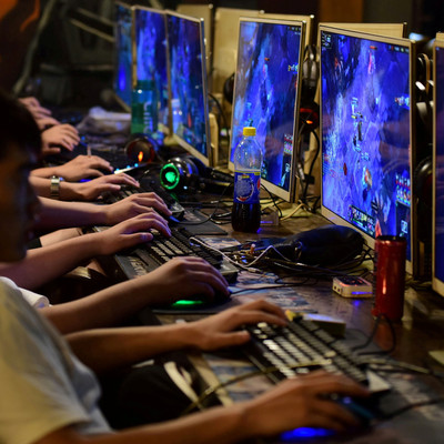 China limits the time children can spend with video games to three hours a week.