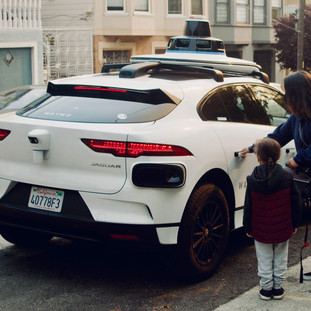 Cars from the future roaming San Francisco