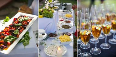 Muldersvlei Estate Winelands wedding venue food