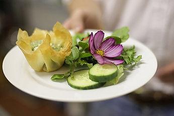 Muldersvlei Estate wedding food