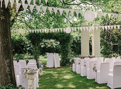 garden wedding winelands Muldersvlei Estate