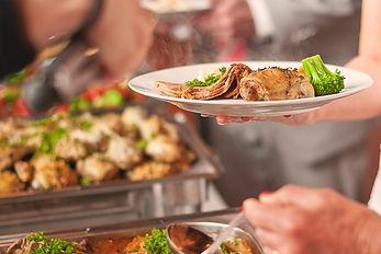 Muldersvlei Estate wedding food 2