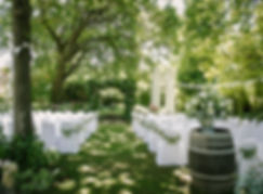 wedding venue winelands Muldersvlei Estate garden