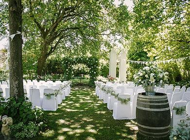 wedding venue winelands Muldersvlei Estate garden