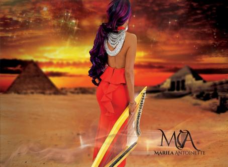 NEW MUSIC: HARPIST MARIEA ANTOINETTE
