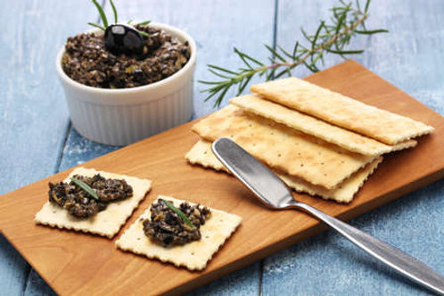 Homemade olive Tapenade