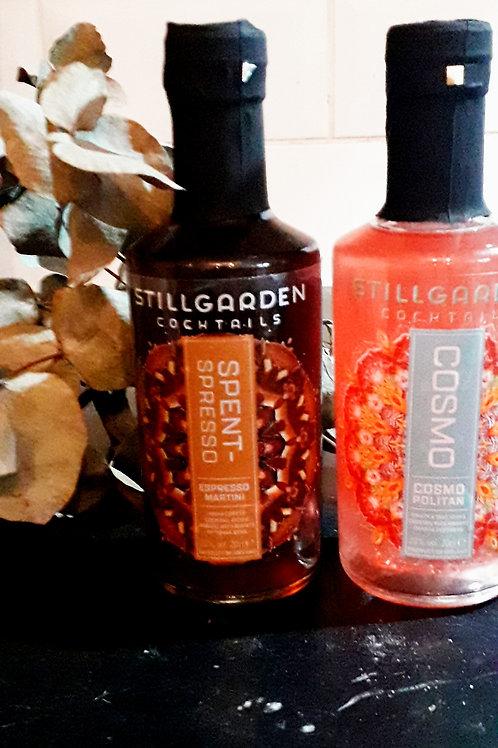 Gin stillgarden or espresso Martini 200ml or  Cosmopolitan 200ml
