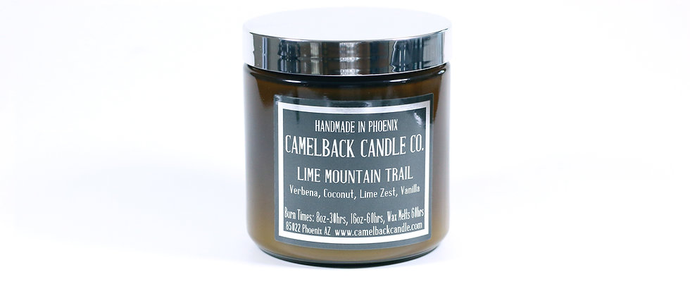 16oz Lime Mountain Trail Candle