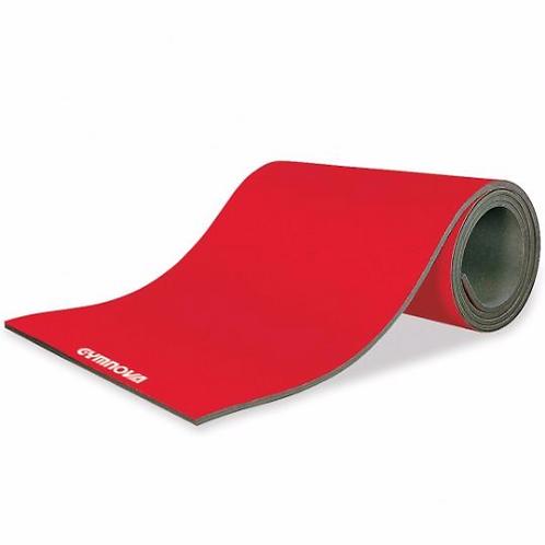 GYMNOVA - Piste d'évolution enroulable rouge GYMNOVA 1400 x 200 x 4cm