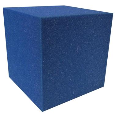 "Spieth America - Cube de mousse 8"" x 8"" x 8"" Ignifuge (Bleu)"