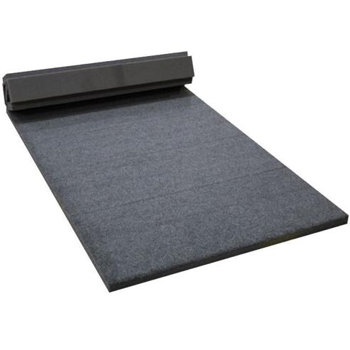 Spieth America - Piste d'évolution enroulable grise avec fentes