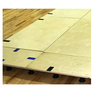 Spieth America - Plancher à ressorts pré-installé: 42' x 42'