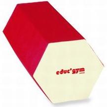 GYMNOVA - Grand module hexagonal  160 x 66/57cm