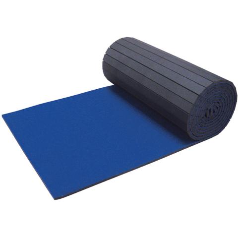 Spieth America - Piste d'évolution enroulable bleue avec fentes