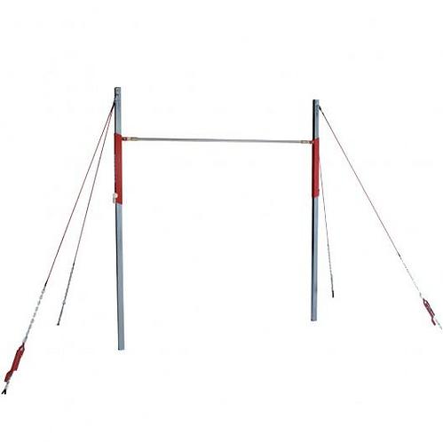 GYMNOVA - Barre fixe entrainement ajustable à haubans - Câblerie courte