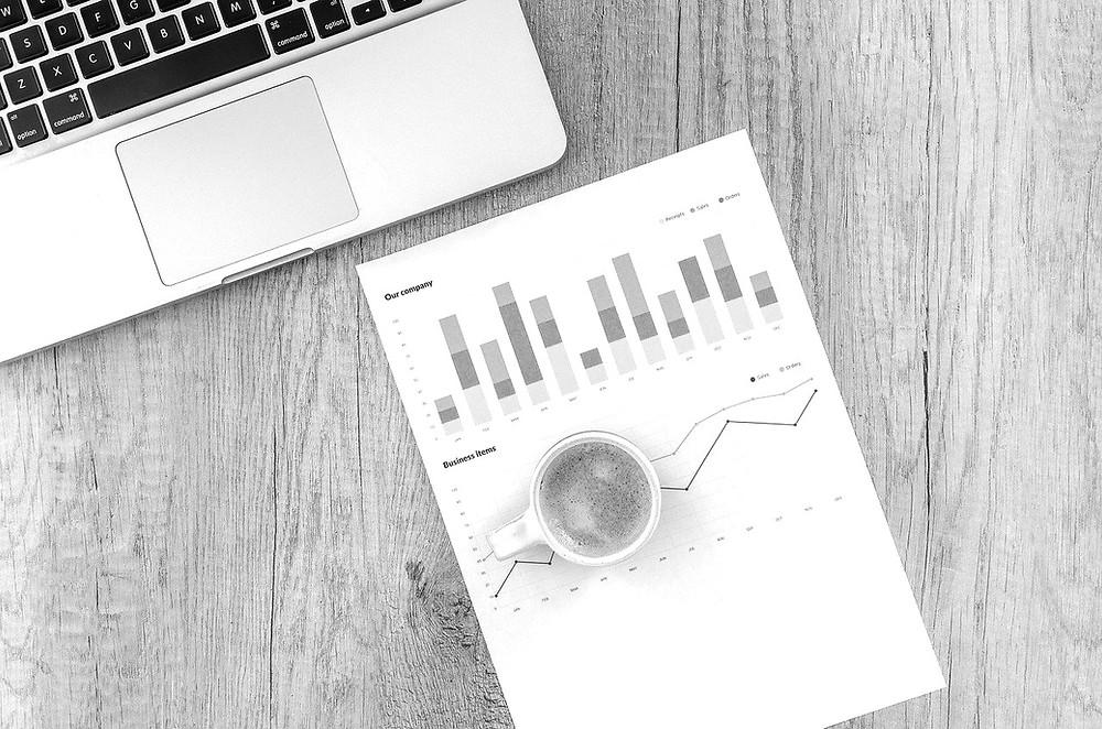 document graphique etf simplifié sur bureau