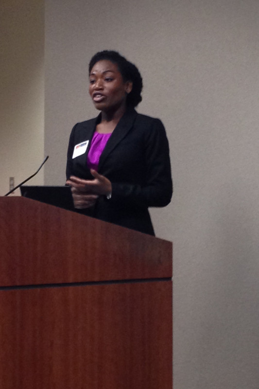 Scholarship recipient,  Dorcas Gyamerah