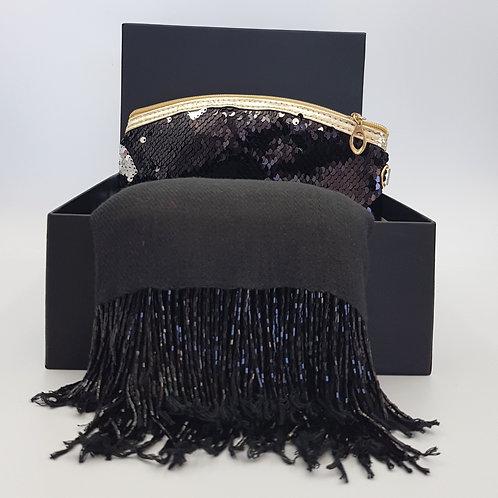 Gift Box with Pashmina & Cosmetic Bag
