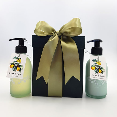 Gift Box with Lotion & Liquid Soap