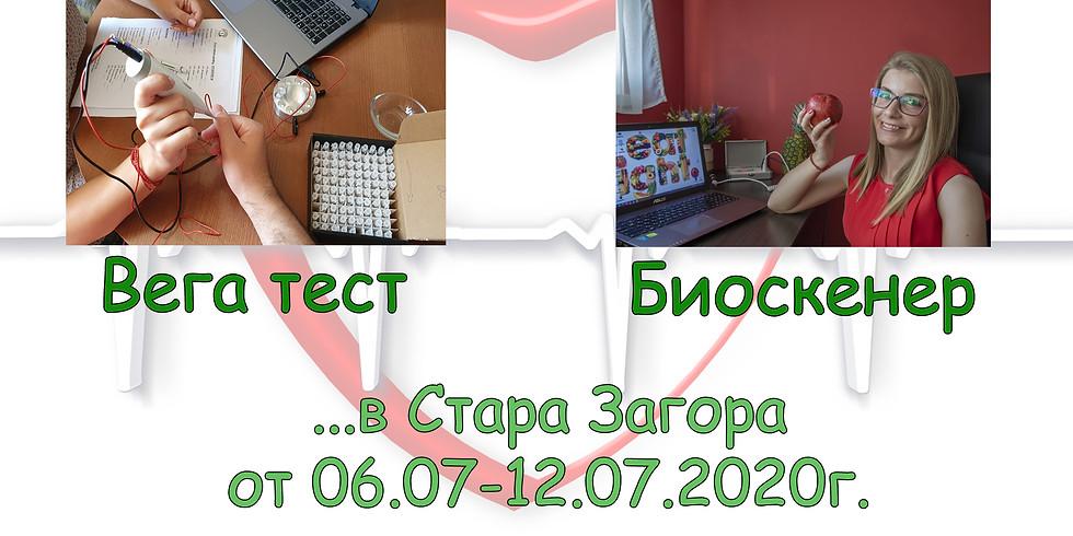 Стара Загора 06.07-12.07.2020