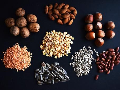Накисване на суровите ядки, семената, зърнените и бобовите култури
