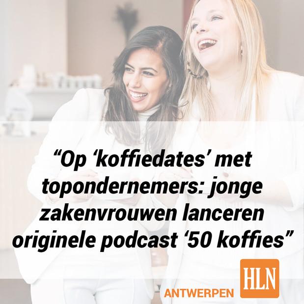 HLN Antwerpen - 50 koffies