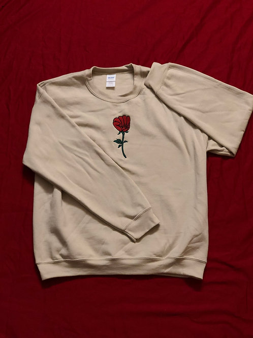 ROSE FIST CREWNECK