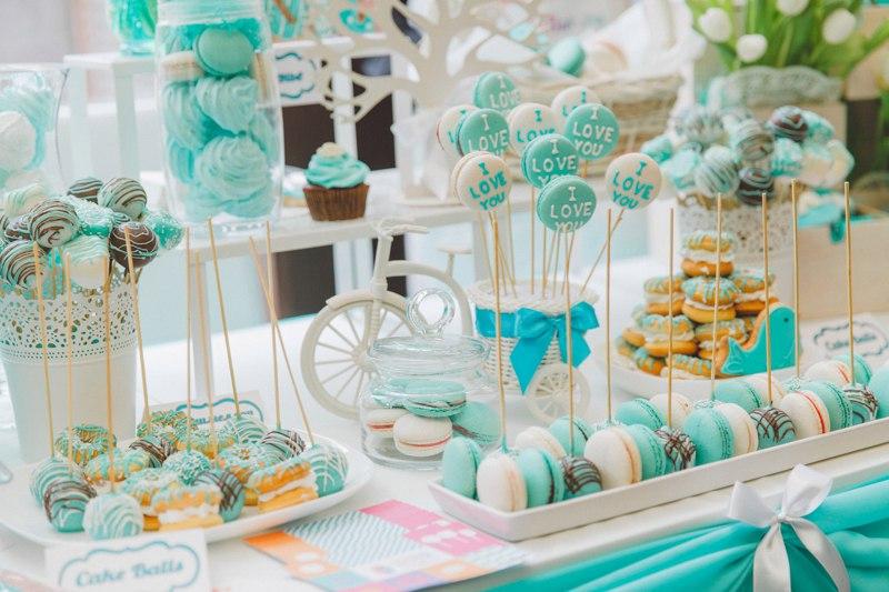 Candy bar (нежный голубой)