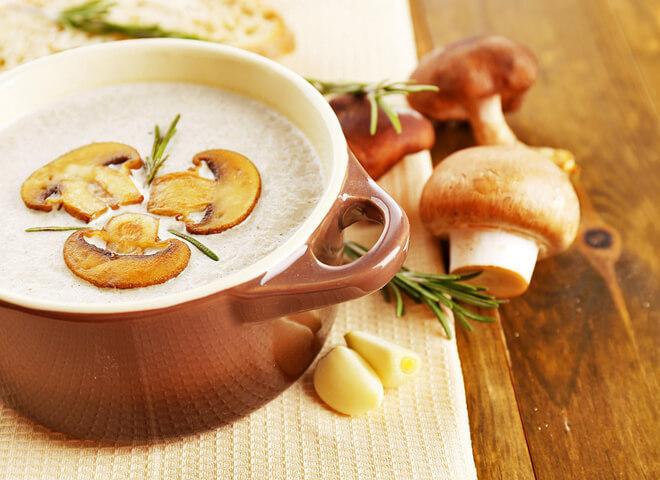 Суп крем из шампиньонов