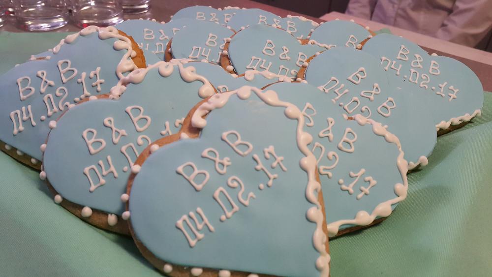 Имбирное печенье с инициалами