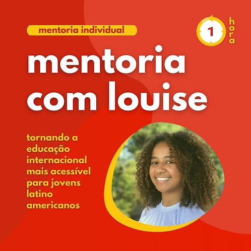 Mentoria com Louise Ferreira