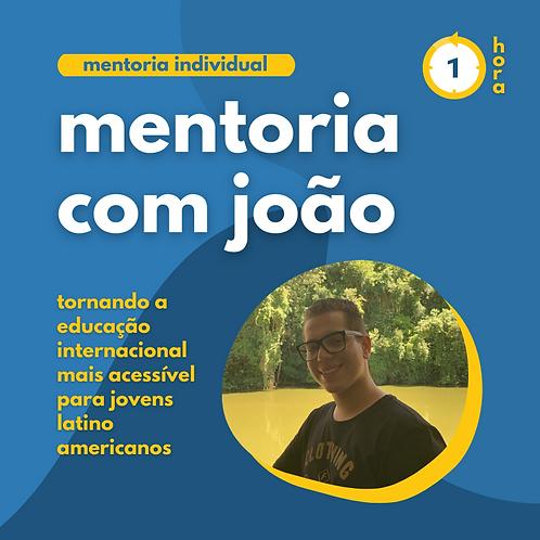 Mentoria com João Sanches
