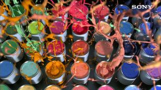 Sony Bravia 'Paint Pots'