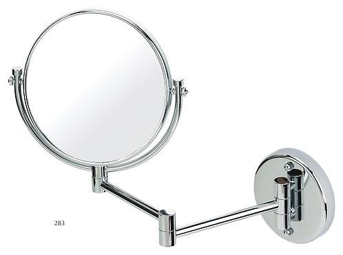 Зеркало настенного крепления 20 см х 3 увеличение - хром. Арт 283
